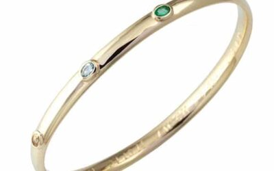 118860 : Coloured Gemstone Bangle